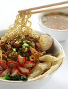 Chinese Noodle Soup Royalty Free Stock Photo - 5091165