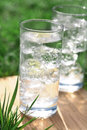 Sparkling Mineral Water With Icecubes Stock Images - 5096204