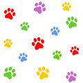 Paw Prints Stock Images - 5099254