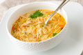 Chicken Noodle Soup Stock Images - 50903374