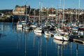 Commercial Marina In Scarborough, United Kingdom Royalty Free Stock Image - 50928376