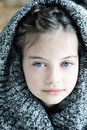 Girl In Hooded Sweater Stock Photo - 50949720