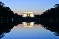 Abraham Lincoln Memorial And And Reflection Over The Pool At Night - Washington DC, USA Stock Photography - 50955032
