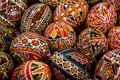 Romanian Painted Easter Eggs Stock Photo - 50961500