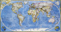 Map Of Planet Earth Royalty Free Stock Photos - 50967268