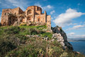 Medieval Church  At Monemvasia, Peloponnese, Greece Stock Image - 50986691