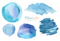 Collection Of Watercolor Painted Design Elements Background Stock Photos - 50997983