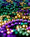Mardis Gras Beads Stock Images - 510094