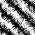 Triangular Tribal Pattern B&w Royalty Free Stock Photos - 511268