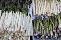 Asparagus On The Market Stock Image - 5104161