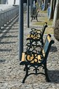 Row Of Benches Stock Image - 5108131