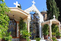 Courtyard In The Orthodox Church Of The First Miracle, Kafr Kanna, Israel Stock Image - 51000071