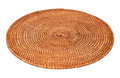 Round Woven Place Mat Stock Images - 51001264