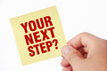 Your Next Step Royalty Free Stock Image - 51011596