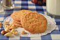Peanut Butter Cookies Royalty Free Stock Photography - 51012797