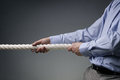 Business Competition Tug Of War Royalty Free Stock Image - 51030246