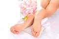 Foot Massage In The Spa Salon Royalty Free Stock Photos - 51059928