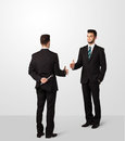 Two Businessman Shake Hands Royalty Free Stock Photography - 51067907