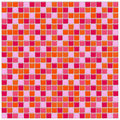 Orange, Pink And Red Glass Tiles Stock Image - 5110151