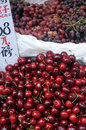 Cherries For Sale Royalty Free Stock Photography - 5115887