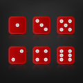 Dice For Games Turned On All Sides Royalty Free Stock Photo - 51107485