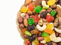 Mix Of Nuts And Dried Fruits Stock Photos - 51109043