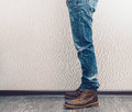 Man S Legs Royalty Free Stock Images - 51119099