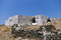 Old And Traditional Drystone Building In Kythnos Island, Cyclades, Greece Royalty Free Stock Image - 51121546