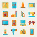 Set Of Home Appliances And Electronics Icons Stock Images - 51141744