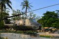 US Military Helicopter Used During The Vietnam War Royalty Free Stock Images - 51155869