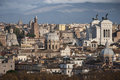 The Roofs Of Rome, Italy. Mountains Of Lazio. Stock Images - 51156774