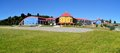 Colorful School In Puerto Varas, Chile Royalty Free Stock Photo - 51172245