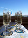 Sparkling Wine Glasses Royalty Free Stock Photos - 51187878