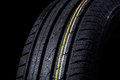 Wet Tire Royalty Free Stock Image - 51199316