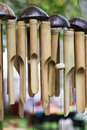 Bamboo Wind Chimes Stock Photo - 51202300