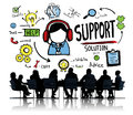 Support Solution Advice Help Care Satisfaction Quality Concept Royalty Free Stock Photos - 51221118