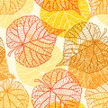 Seamless Vector Pattern With Stylized Autumn Stock Photos - 51223253