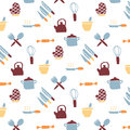 Kitchen Icon Pattern Royalty Free Stock Image - 51224346