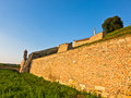 A View At Kalemegdan Fortress Walls From Below, Belgrade Royalty Free Stock Images - 51224719