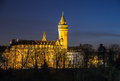 Luxembourg Night Scene Stock Images - 51232454
