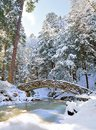 Winter Stone Bridge Stock Photo - 51252110