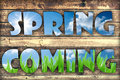 Spring Coming Royalty Free Stock Image - 51255296