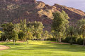 Desert Golf Course Royalty Free Stock Photography - 51262977