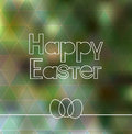 Happy Easter Lettering Greeting Card Royalty Free Stock Photography - 51266837