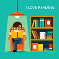 I Love Reading Royalty Free Stock Images - 51272209