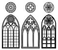 Gothic Windows Of Cathedrals Stock Photography - 51272422