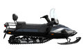 Black Powerful Snowmobile Royalty Free Stock Photography - 51284137