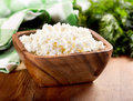 Cottage Cheese In A Bowl Stock Image - 51286641