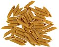 Whole Wheat Penne Rigate Pasta Stock Image - 51290441