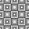 Seamless Geometric Pattern, Simple Vector Black And White Stripe Stock Photography - 51291652